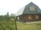 Новое фото  2-этажный дом 88 м2 (сруб) на участке 9 сот, , 80 км до города Богородский район 38625632 в Нижнем Новгороде