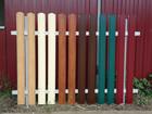 Скачать бесплатно фотографию Строительные материалы Штакетник металлический с бесплатной доставкой, 39841146 в Нижнем Новгороде