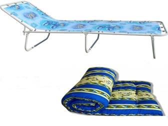 Увидеть фотографию Мебель для спальни Раскладушка взрослая с матрасом 32814854 в Нижнем Новгороде