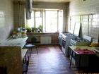 Комната в общежитии с мебелью, холодильником, тв, электричес