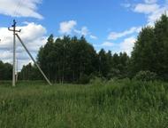Дачный участок в Московской Области, 12 соток Продам земельный участок 12 соток.