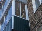 Тёплое остекление балкона с выносом