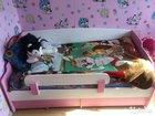Мебель в детскую (2 стеллажа   кровать)
