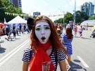 Смотреть foto  мимы на праздник встреча гостей 68035419 в Новокузнецке