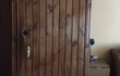 Продам металлическую дверь б/у из 50 уголка