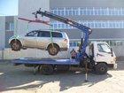 Уникальное фото Эвакуатор Hyundai 78 со сдвижной платформой и КМУ 32776811 в Новосибирске