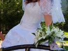 Скачать фото Свадебные платья Красивое Свадебное платье 46-52р 32797733 в Новосибирске