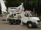 Смотреть фото Автогидроподъемник (вышка) Автовышка ГАЗ 33106,высота подъема 18м 33075071 в Новосибирске