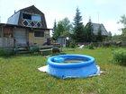 Фото в Загородная недвижимость Продажа дач дача участок 15 сот вода свет домик 2 этажа в Новосибирске 300000