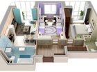 Фото в Продажа квартир Квартиры в новостройках На фото представлена квартира уже с дизайнерским в Новосибирске 3963000