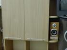 Фотография в Мебель и интерьер Мебель для детей Цвет бук, б/у, в отличном состоянии. стол:длина в Новосибирске 0
