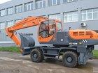 Новое foto Экскаватор Колесный экскаватор UMG E230W (ЭксМаш) 46711676 в Новосибирске