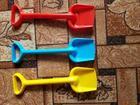 Смотреть фотографию Детская одежда Лопаты детские пластиковые 51790296 в Новосибирске