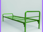 Скачать фотографию Мебель для спальни Металлические кровати со сварной сеткой 82508390 в Новосибирске