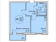 Квартира от ЖК Элитный Действительно продам 1-комнатную квартиру на территории М