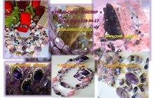 Бусы из натуральных камней оптом, производство, Подарки, Серебро