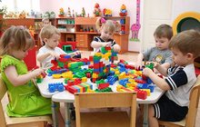 Детский сад в густонаселенном районе Новосибирска