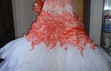 свадебное платье, эффектное