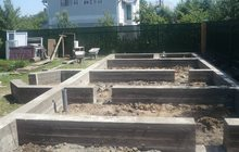 Стяжки, фундаменты, бетонные работы
