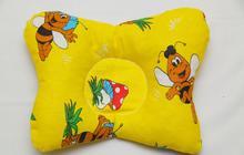Ортопедическая подушка (бабочка) для новорожденных ТОП-110