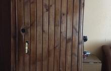 Продам металлическую дверь б/у