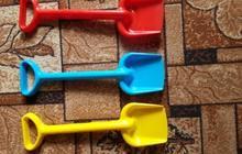 Лопаты детские пластиковые