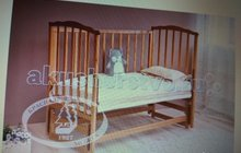 Детская кроватка Можга 619 с прод. маятн. и матрац