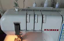 Плоскошовная швейная машина Janome