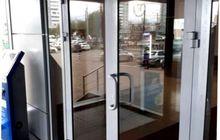 Дверь входная алюминиевая