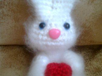 Просмотреть изображение Детские игрушки Вязаные валентинки 32188213 в Новосибирске