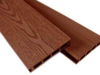 Новое фотографию  Садовый настил из древесно-полимерного композита (ДПК) 32843284 в Новосибирске
