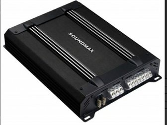 Скачать бесплатно фотографию  усилитель soundmax sm-sa 6042 32945010 в Новосибирске