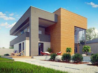 Увидеть фотографию Строительство домов Проектирование, Строительство под ключ, Таун Хаузы, коттеджи, загородные дома, 34659200 в Новосибирске