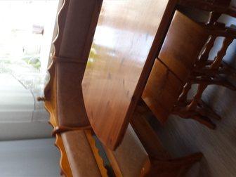 Новое фотографию  Кухонный уголок: угловой диван, стол и табуретки 34804441 в Новосибирске