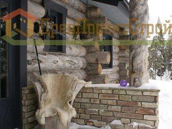 Смотреть фотографию Строительство домов Проектирование и строительство домов из Карельской сухостойной сосны Kelo 35219828 в Новосибирске