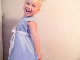 Смотреть изображение Детская одежда Нежное платье в голубых тонах для девочки от 3-х до 5-х лет! 35489711 в Новосибирске
