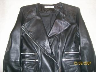 Смотреть foto Женская одежда куртка коженная 37379208 в Новосибирске
