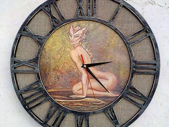 Новое фотографию  Необычные оригинальные настенные часы 37821053 в Новосибирске