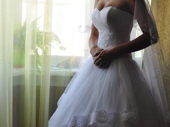 Новое foto  Свадебное платье 38867554 в Новосибирске