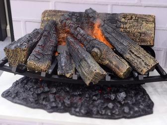 Просмотреть изображение  Электрокамины, дровяные камины, био камины по всей РФ, 55152210 в Новосибирске