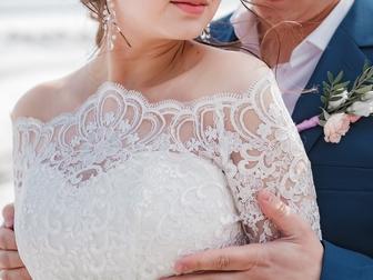 Уникальное фото Свадебные платья свадебное изящное платье за пол цены 66385504 в Новосибирске