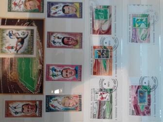 Просмотреть фотографию Коллекционирование продам марки спортивные ЧМ по разных лет по футболу и марки СССР 400 шт недорого 66411553 в Новосибирске