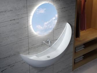 Скачать фотографию  Оптовые поставки ванн и раковин из искусственного камня, 67893374 в Новосибирске