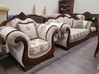 Скачать бесплатно фото Мягкая мебель Продам комплект мебели Юнна-Эллада, диван, 2 кресла 69381519 в Новосибирске