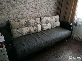 Размер спального места 1,5 *1,9,  Диван хорошей расцветки,  Забирать в Нижней Ельцовке, в Новосибирске
