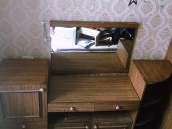 Трюмо, шкаф, двухспальная кровать могу матрасы отдать к ним,  Гарнитур одного полностью цвета,  Размеры по запросу,  Самовывоз, в Новосибирске