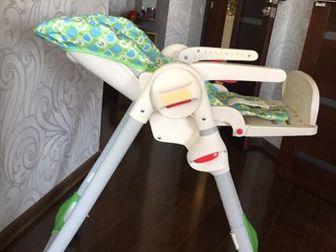 Стульчик для кормления Сhicco Polly— удобный, мягкий ибезопасный детский стульчик для кормления, который можно изменять всоответствии спериодами роста вашего в Новосибирске