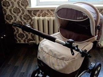 Продаю коляску Геоби,  Пользовались от рождения до 1, 5 лет,  Очень удобная, все механизмы рабочие, 3 положения спинки, 4 тормоза, крупные колеса ни разу не проколоты, в Новосибирске