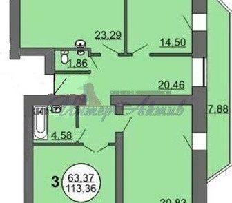 Фото в Недвижимость Продажа квартир Дом сдан. Квартира под самоотделку. Есть в Новосибирске 3950000