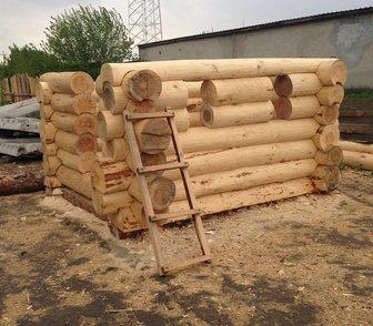 Фотография в Строительство и ремонт Разное сруб бани 4 на 4 из сосны диаметром 30 сантиметров в Новосибирске 175000